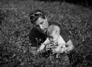 The W family - extended family session in the gardens