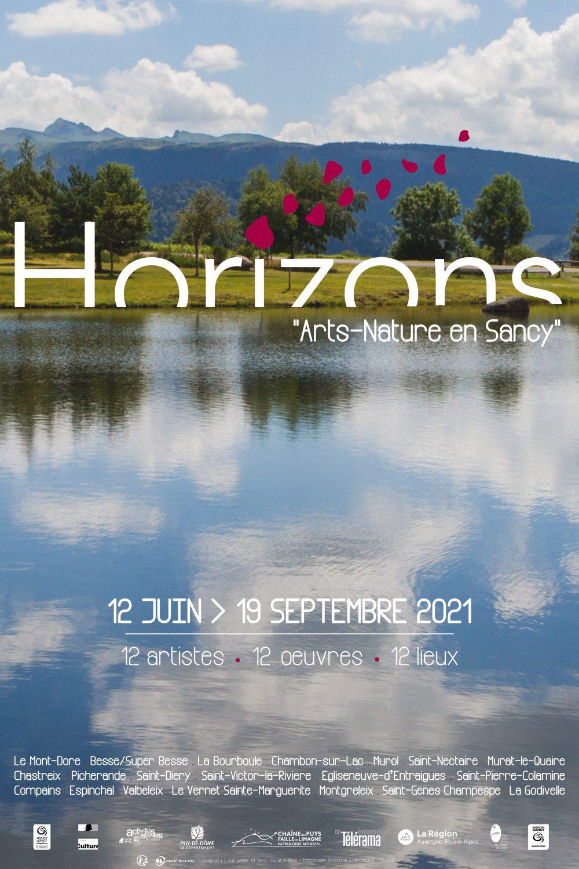 HorizonsEvenement Horizons rencontre art nature : balade sancy pique nique depuis le lodge de sagnove