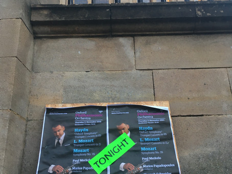 Haydn's Oxford Symphony... in Oxford