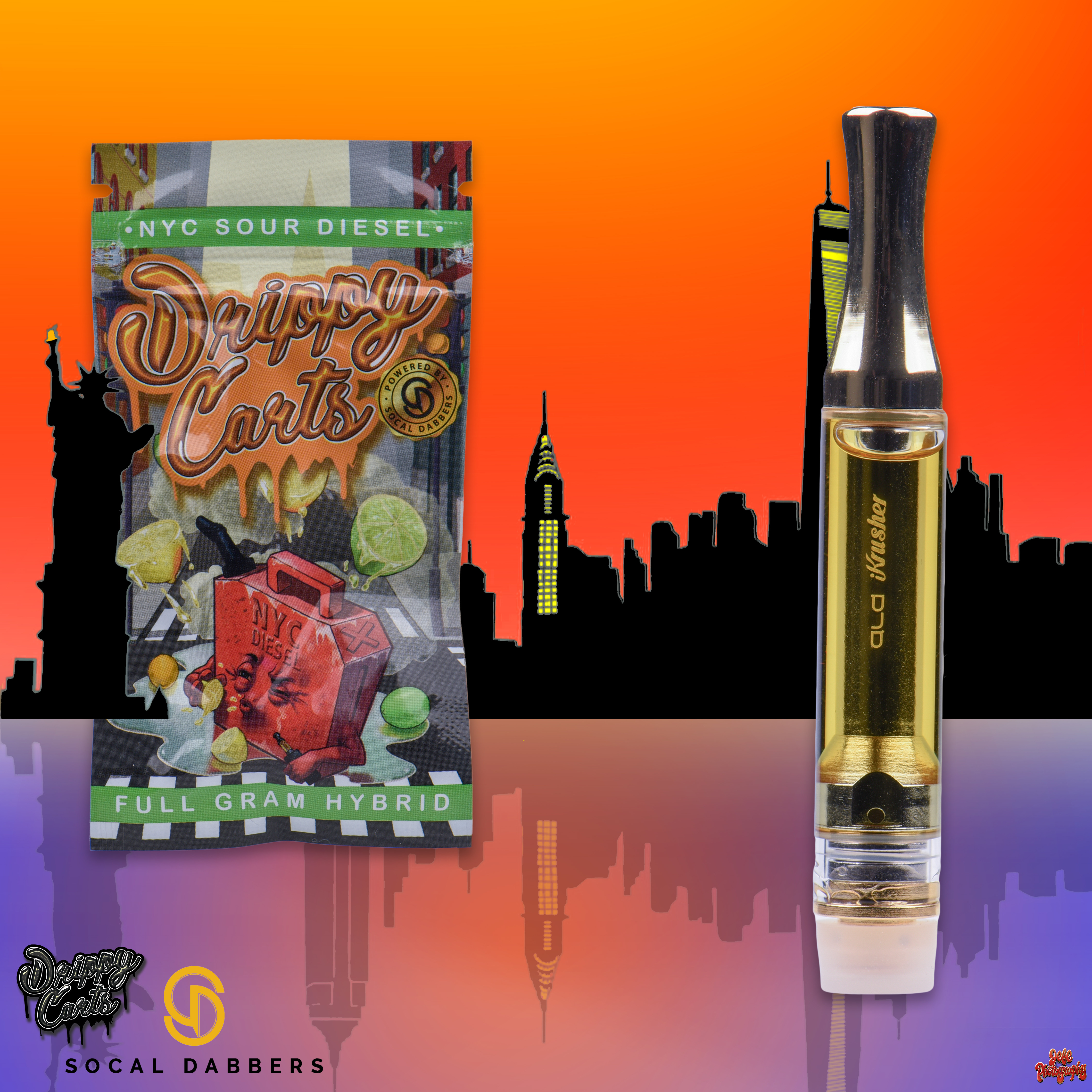 NYC Sour Diesel By Socal Dabbers & Drippy Carts