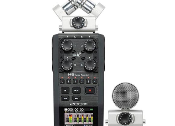 Zoom H6 - 6-Track Portable Recorder