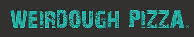 weirdough logo on black with trade mark