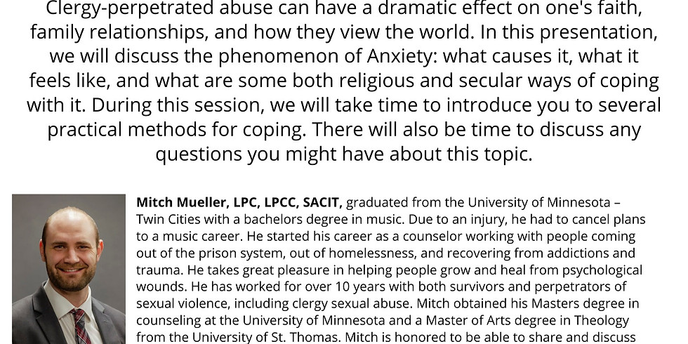 The Phenomenon of Anxiety