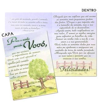 Cartão M - Vovó