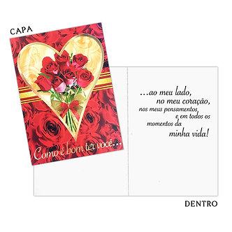 Cartão P - Romântico