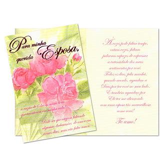Cartão M - Esposa