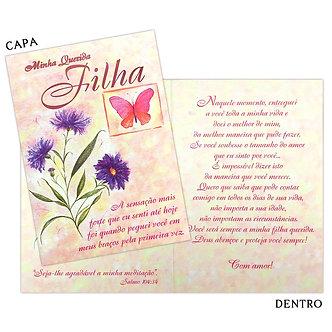 Cartão M - Filha
