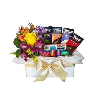 Chocolates Diet c/ Flores