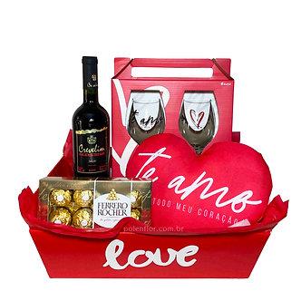 Kit Vinho Amor