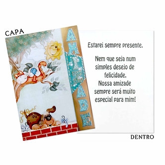 Cartão M -Amizade