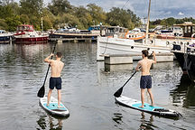 Boys on SUP boards