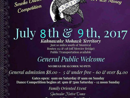 Echoes Of A Proud Nation Pow Wow 2017 Kahnawake July 8 & 9