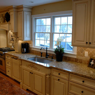 French Chateau Kitchen