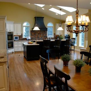 Multi Tonal Transitional Kitchen