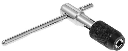 Ratcheting T-Handle Tap Wrench