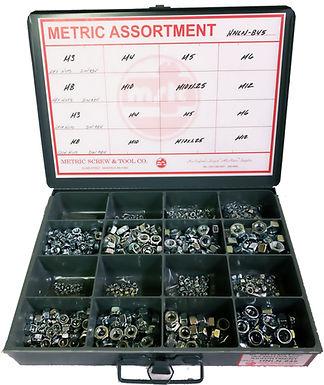 Hex Nut & Lock Nut Assortment 845 Pieces