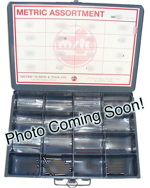 355 PIECE METRIC JIS NUT AND BOLT ASSORTMENT