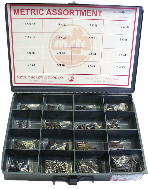Roll Pin Assortment 880 Pieces
