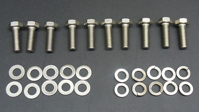 Ford 6.8 LTR V10 Stainless Steel Exhaust Manifold Bolt Kit