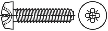 Spiralform, PosiDriv® Pan Head