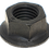 Thumbnail: Hex Ribbed Faced Flange Nut