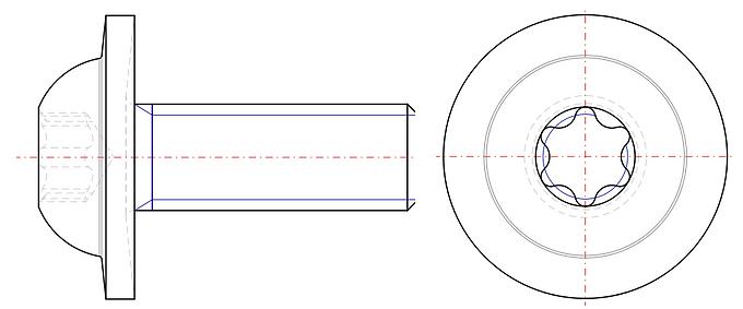 Eco-Fix™ 6 Lobe Pan Washer Head Screw