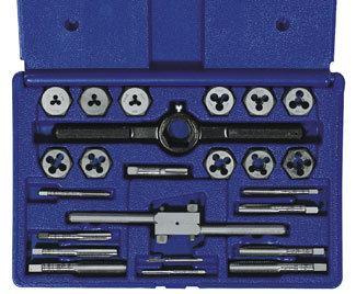 24 pc Tap, Die & Tool Set