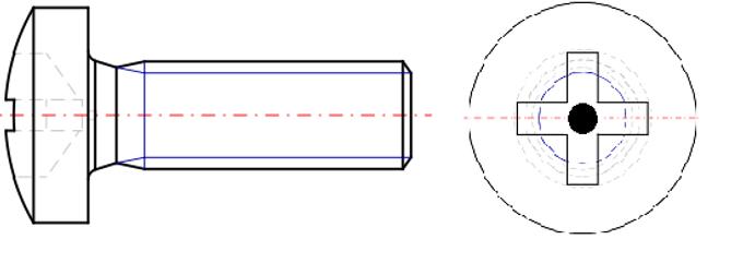 Cross Recess Pin Pan Head