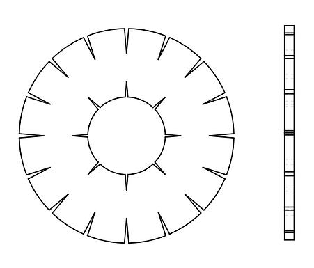 Internal / External Lock Washers