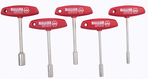 T-Handle Nut Driver 5 pc Set