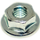Thumbnail: Hex Flange Nuts
