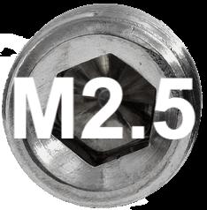 M2 DIN 914, ISO 4027 Metric Flat Point Socket Set Screw