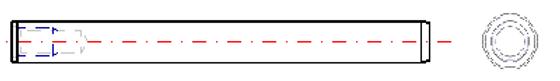Threaded Taper Pin