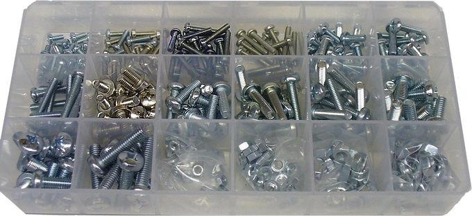 Compact Machine Screw Assortment