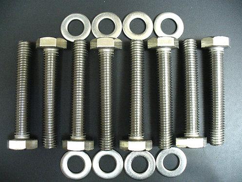 Ford 7.3 Ltr Powerstroke Diesel Exhaust Manifold Stainless Steel Bolt Kit
