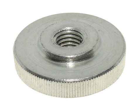 Knurled Nuts, Low Profile