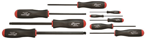 Metric 9 pc Ball End Screwdrivers