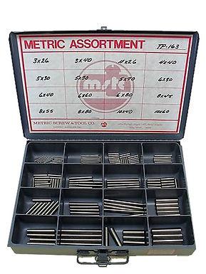 Taper Pin Assortment 163 Pcs