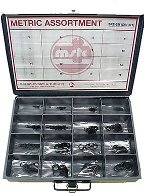 External Retaining Ring Assortment 3mm - 18mm