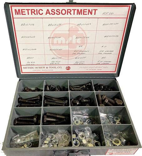 231 PIECE METRIC FINE THREAD ASSORTMENT- GREAT PRICES