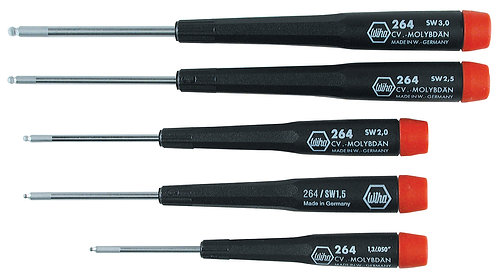 Precision Ball End Drivers 5 pc Set