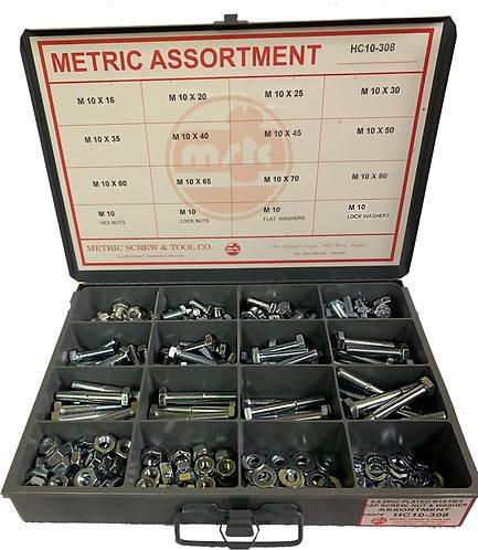 M12 Hex cap screw assortments