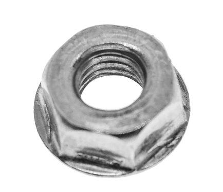 Hex Flange Lock Nut, All Metal
