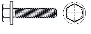 Spiralform, Hex Flange Head