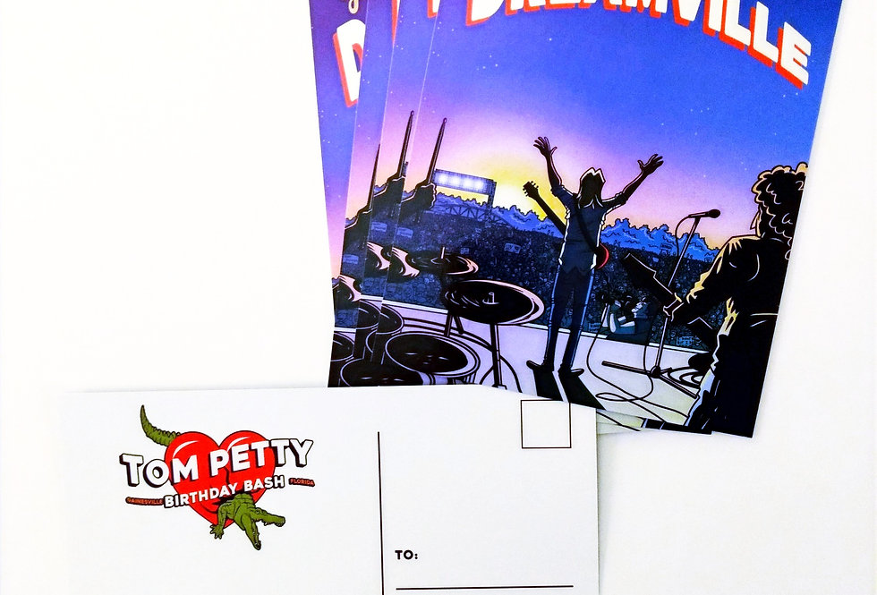 3 Dreamville Postcards