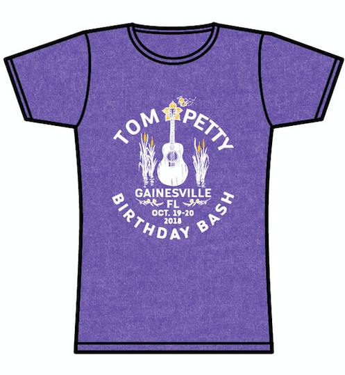 0581bcb27 2018 Tom Petty Birthday Bash Gainesville T-Shirt