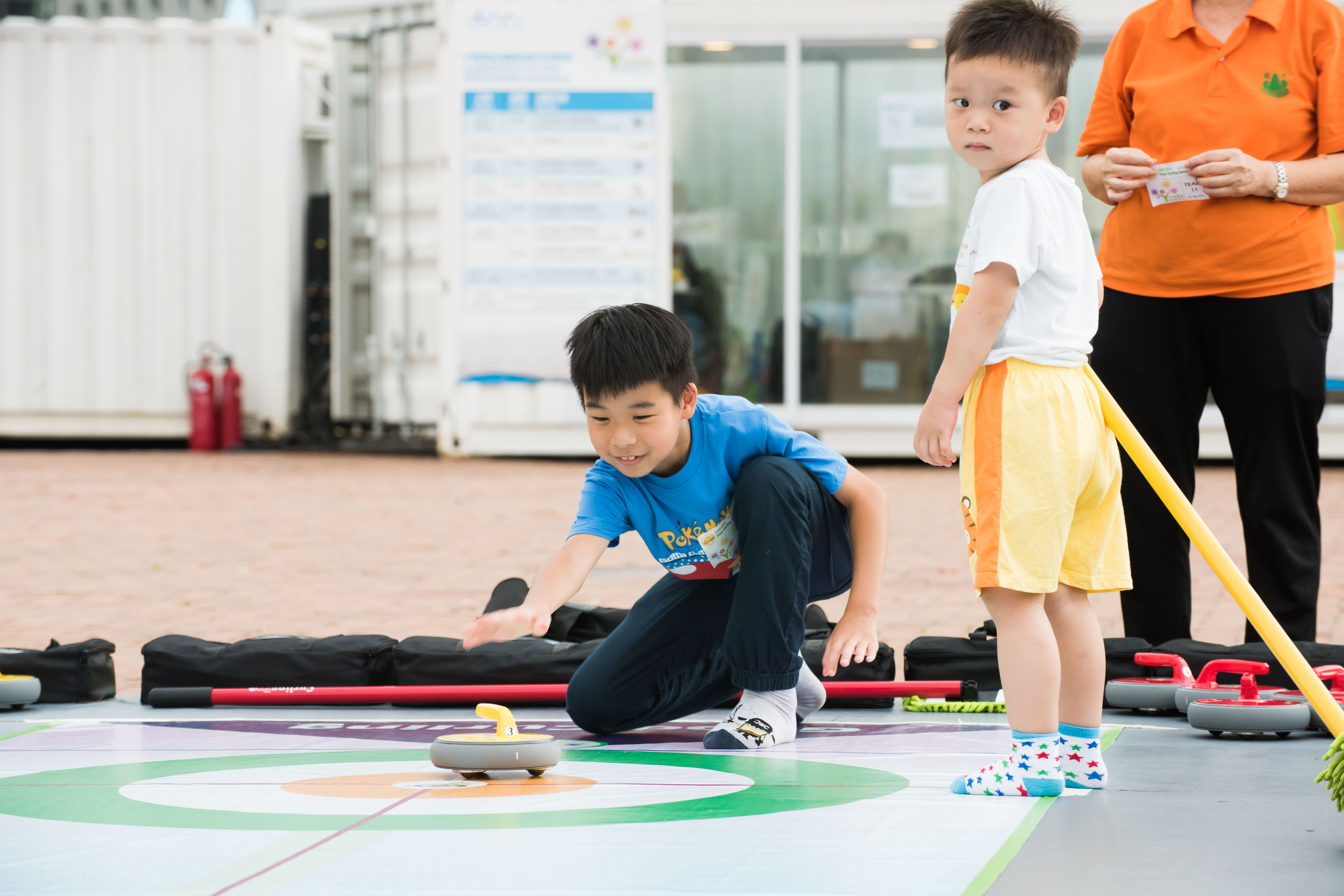 地壺球 Floor Curling