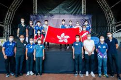 2021國際跳繩聯盟(IJRU)世界跳繩虛擬錦標賽 - 香港代表隊授旗禮暨嘉年華_HKRSA Hong Kong Team Flag Presentation Ceremony c