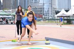 Floor Curling_地壺球