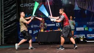 Crossfire 嘉年華: 激光劍聯賽@中環夏誌 Crossfire Carnival: Neon Sabre League @SummerFest